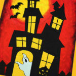 DIY Printable Haunted House Craft
