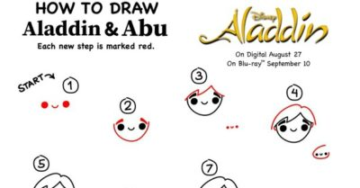 feature printable how to draw aladdin activity page