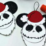 Free Printable Santa Jack Ornament Craft