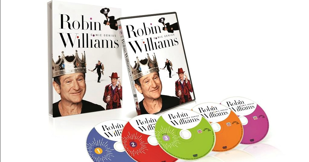 feature robin williams comic genius dvd box set