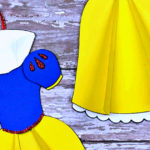 Free Printable Snow White Ornament Craft