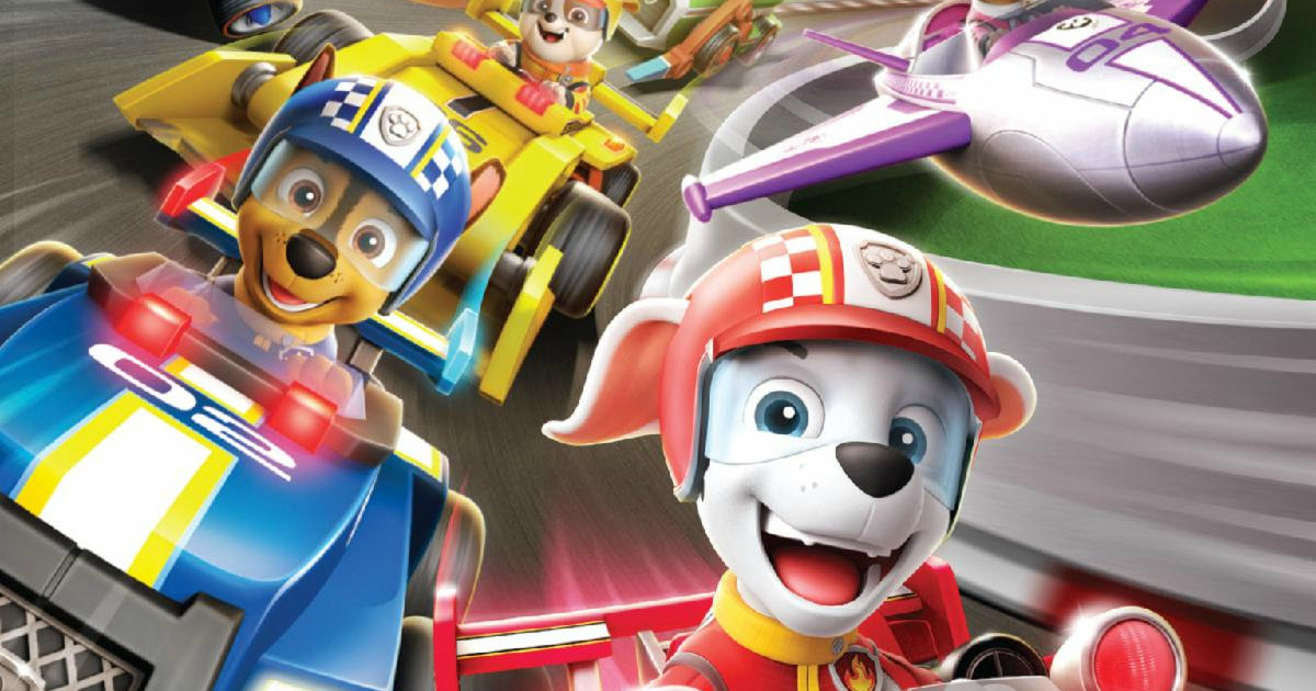 happy paw patrol racers