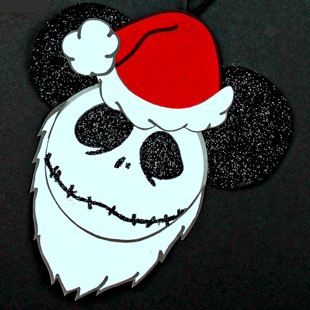 jack skellington santa nbc ornament craft