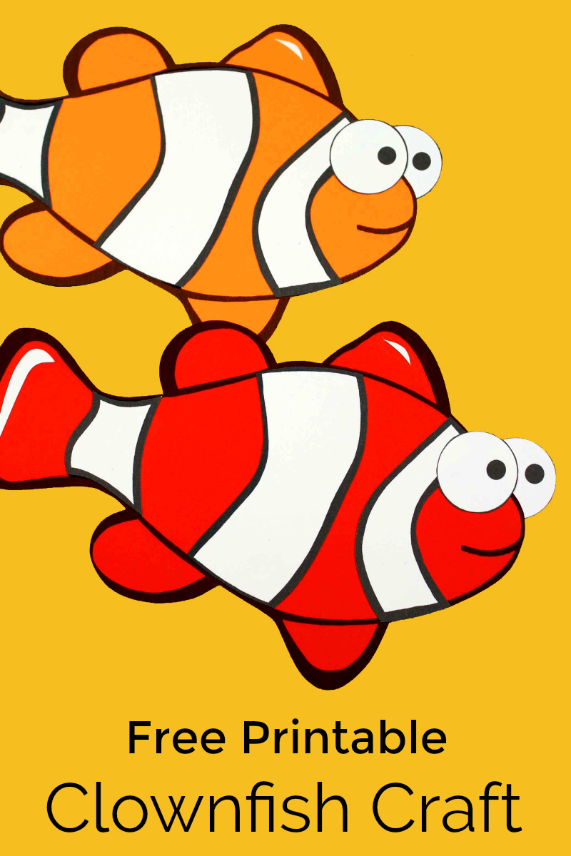pin craft two clownfish