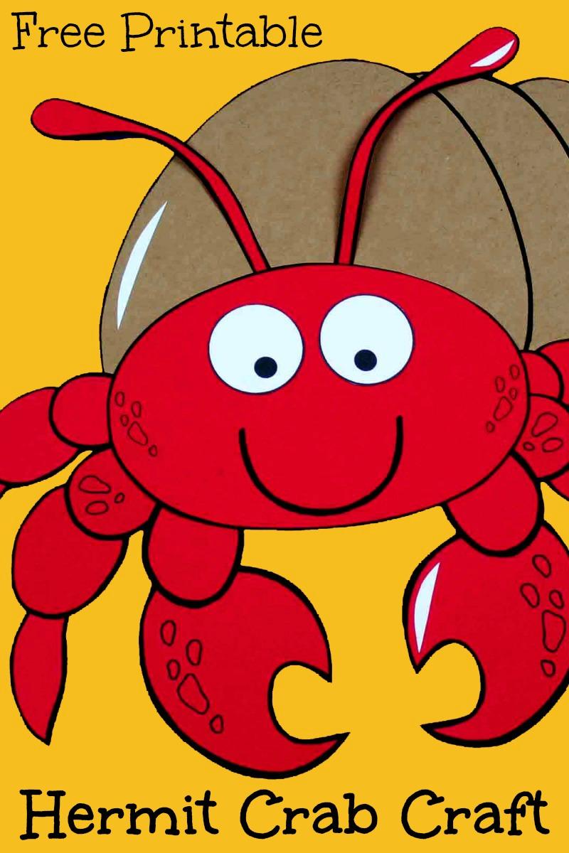 pin hermit crab papercraft