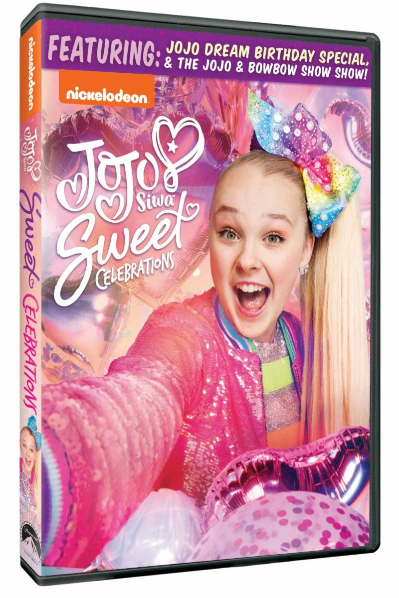 pin nickelodeon jojo siwa sweet celebrations dvd
