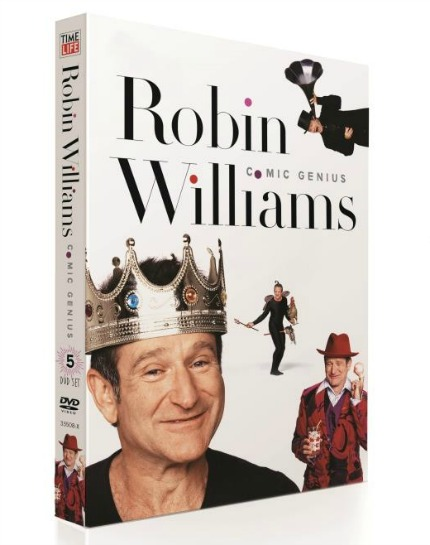 pin robin williams dvd set