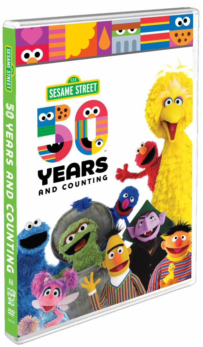Sesame Street 50 Years and Counting DVD #SesameStreet