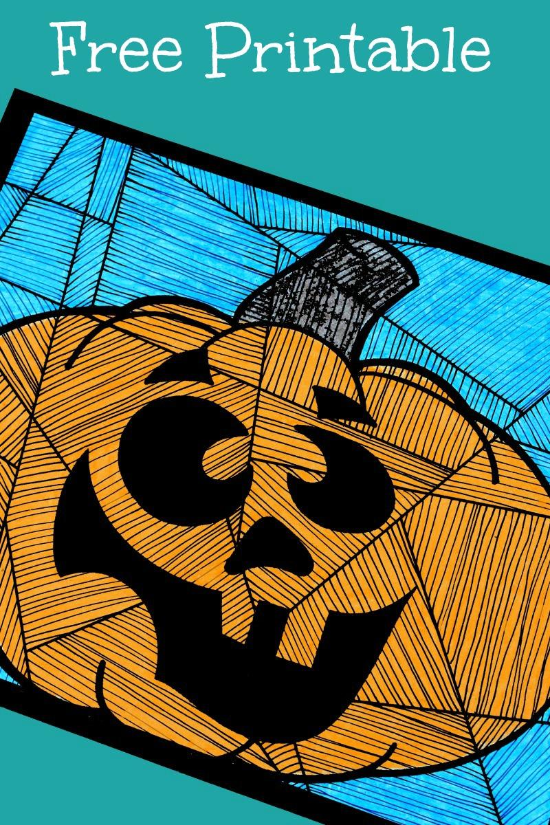 pin silly pumpkin art