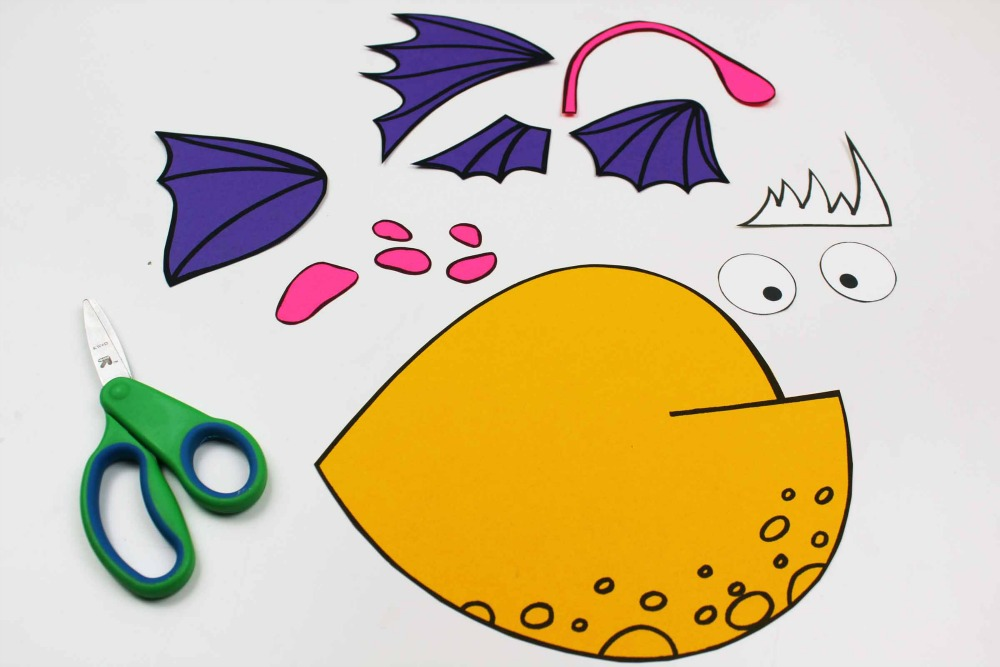 supplies for angler fish craft