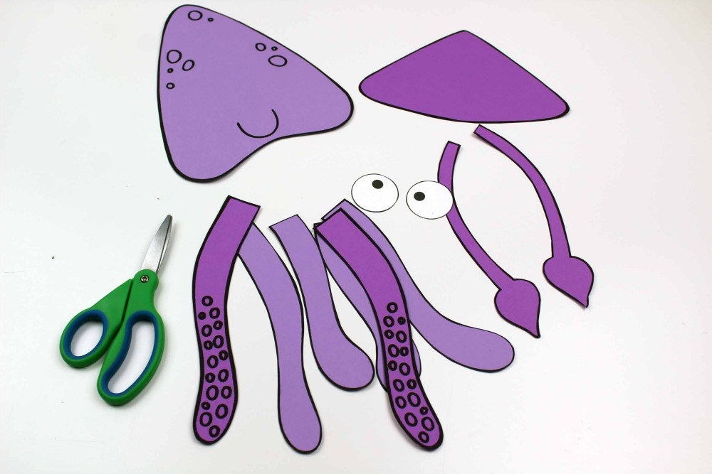 supplies for squid craft