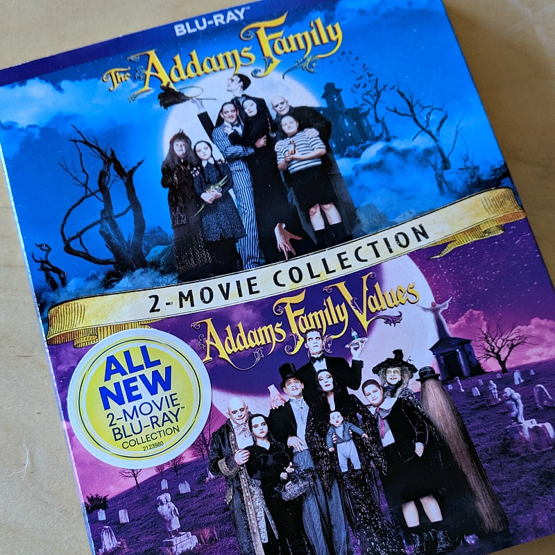 2 movie collection addams family blu-ray