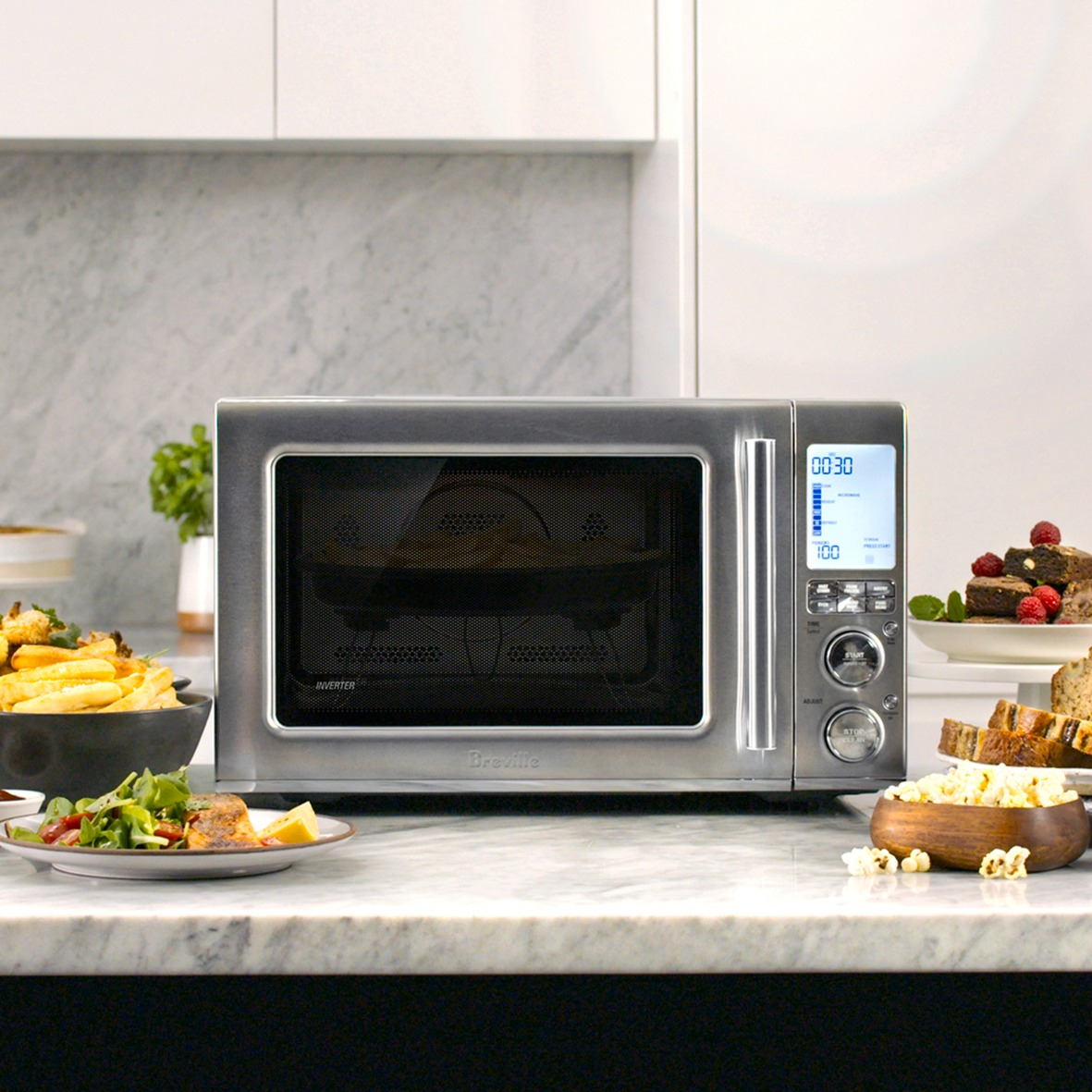 #ad Yes, I want to #WaveHello to the Breville Combi Wave 3-in-1 Microwave @BestBuy @Breville #CombiWave