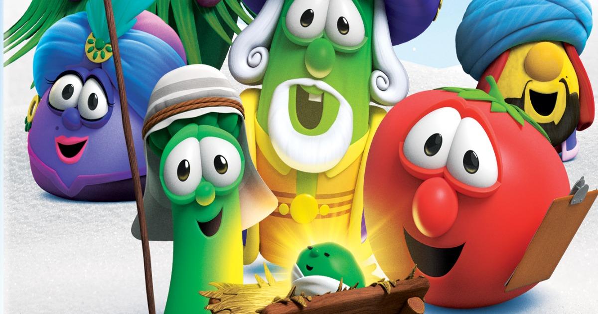 feature VeggieTales Christmas DVD