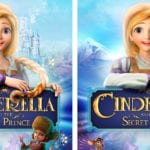 Printable Cinderella Spot The Difference Activity Page