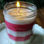 Easy Homemade Peppermint Candle Holiday Craft
