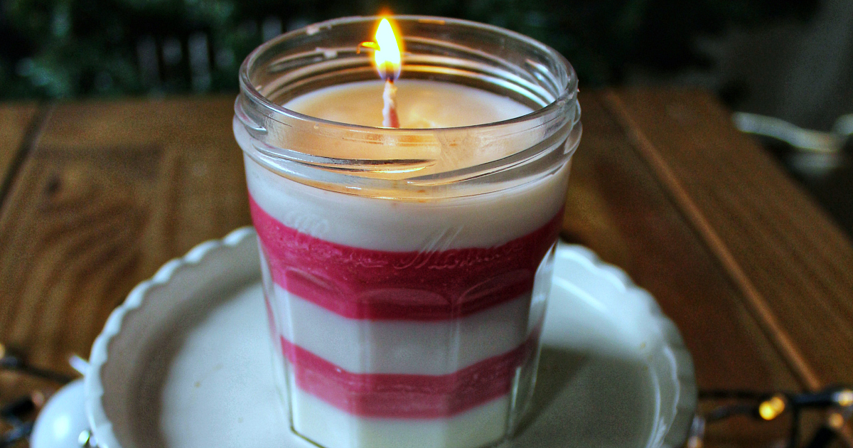 feature homemade peppermint candle craft