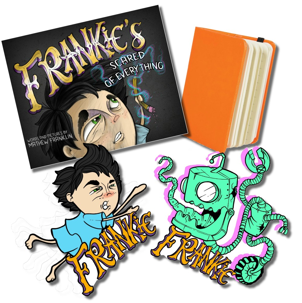 frankie halloween prize pack