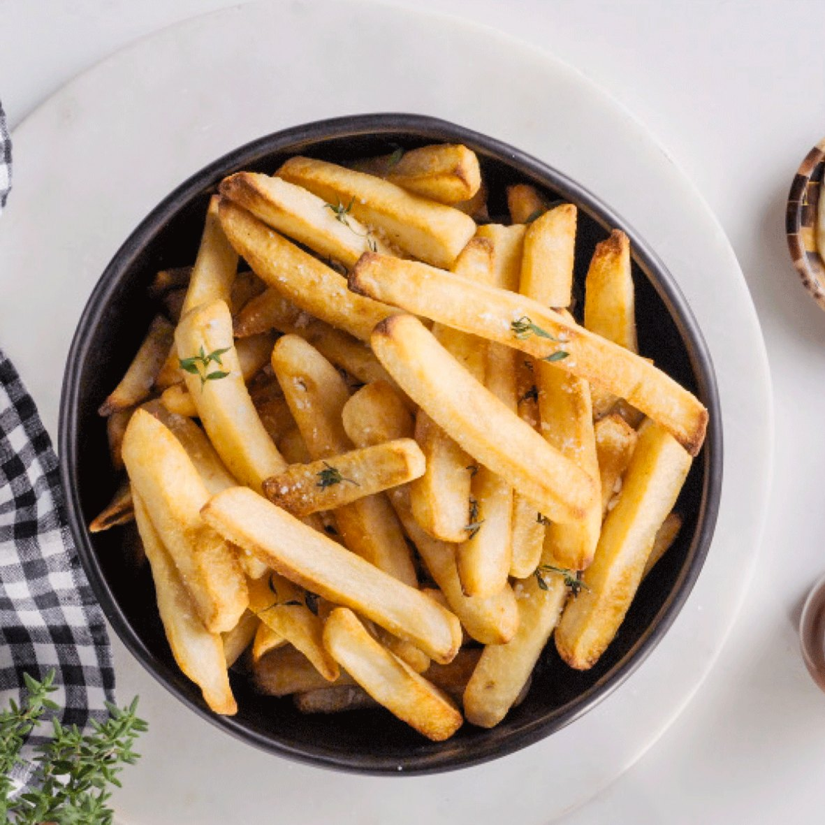 fries made in Breville Combi Wave