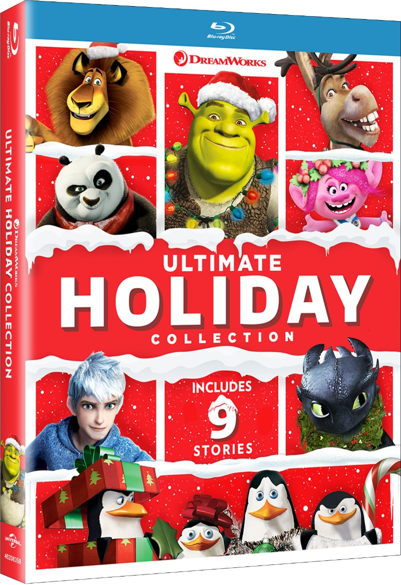 DreamWorks Ultimate Holiday Collection Blu-ray #ChristmasTV #ChristmasBluRay