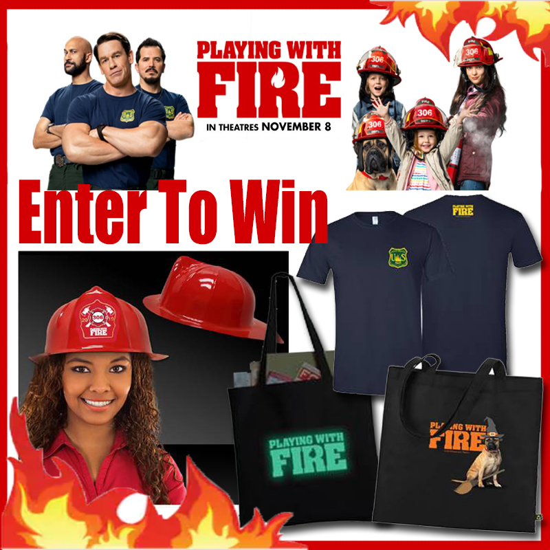 prize package for playing with fire
