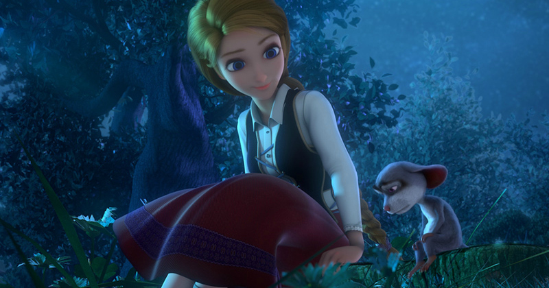 scene from cinderella and the secret prince movie