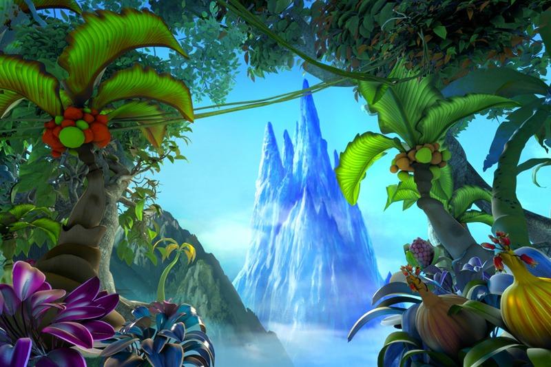 scenery in cinderella animated movie