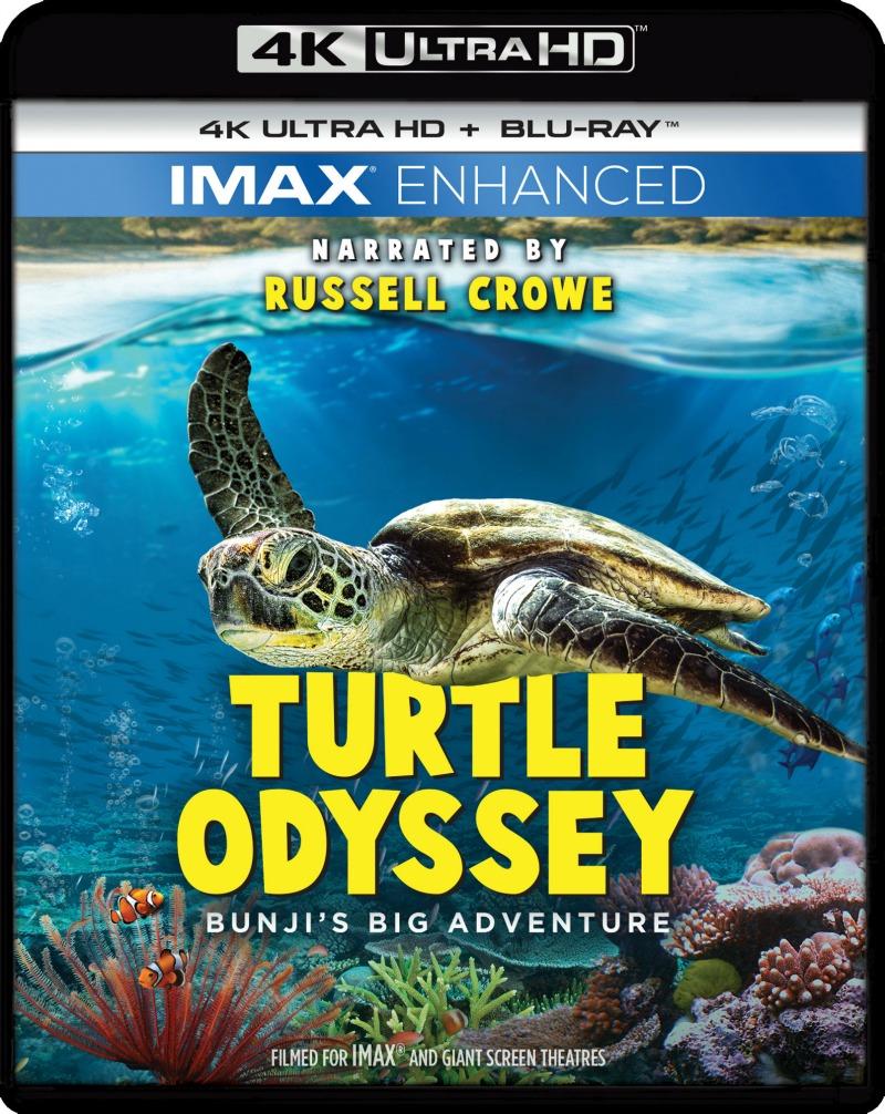 4k ultra hd plus blu-ray imax turtle odyssey