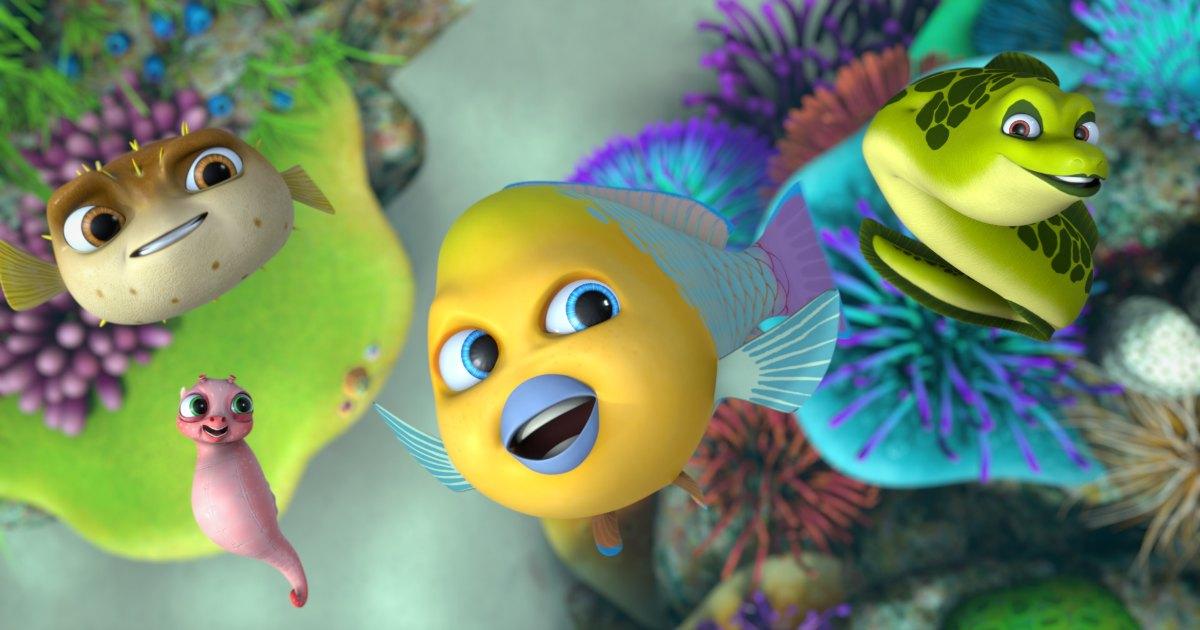 animated stars of go fish