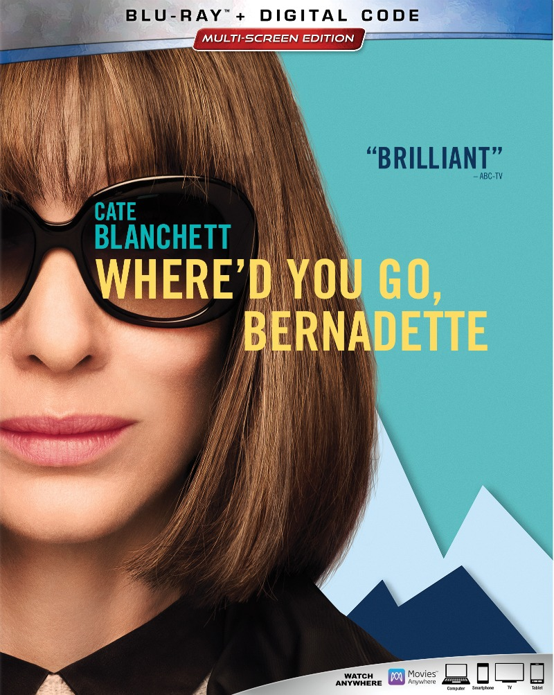 Where'd You Go Bernadette? Movie Based on the Novel by Maria Semple