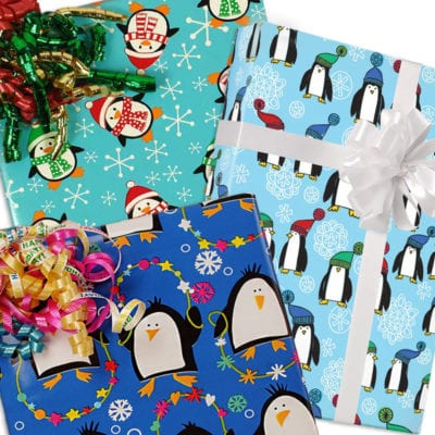christmas penguins