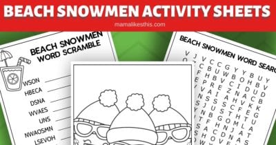 feature beachy christmas printable activity pages