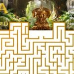 Free Printable Dora Maze – The Lost City of Gold