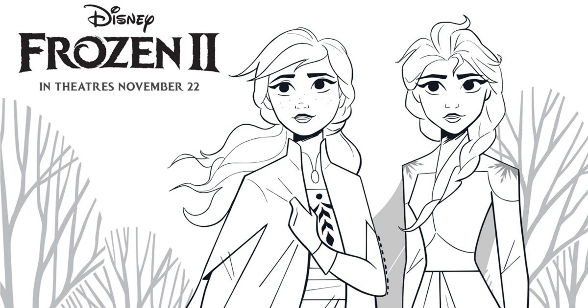 - Frozen 2 Free Printable Anna And Elsa Coloring Page Mama Likes This