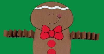feature gingerbread boy printable craft