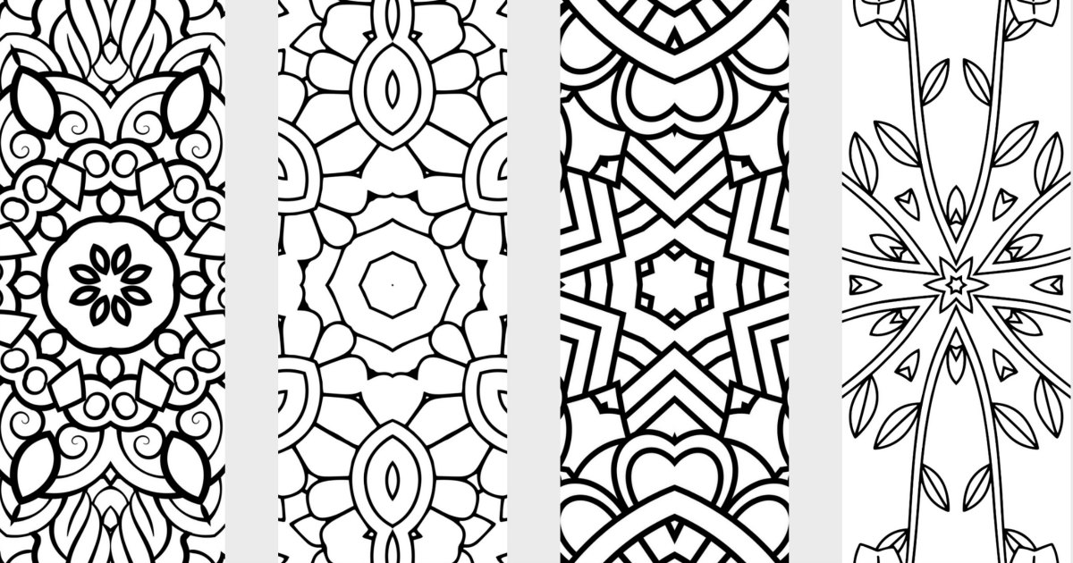Free Printable Bookmarks To Color Mama Likes This