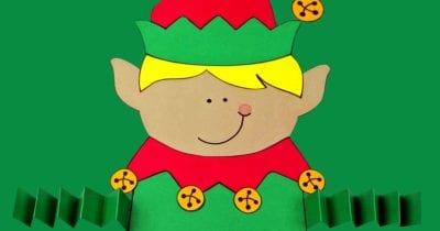 feature printable elf boy craft