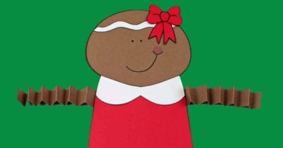 feature printable gingerbread girl craft