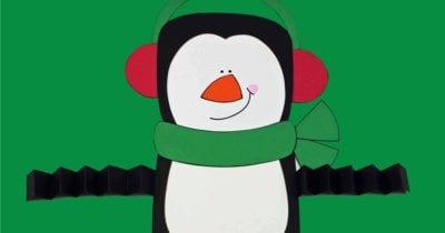 feature printable penguin craft