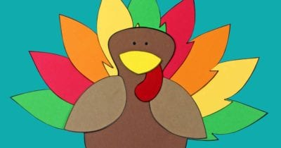feature printable turkey craft