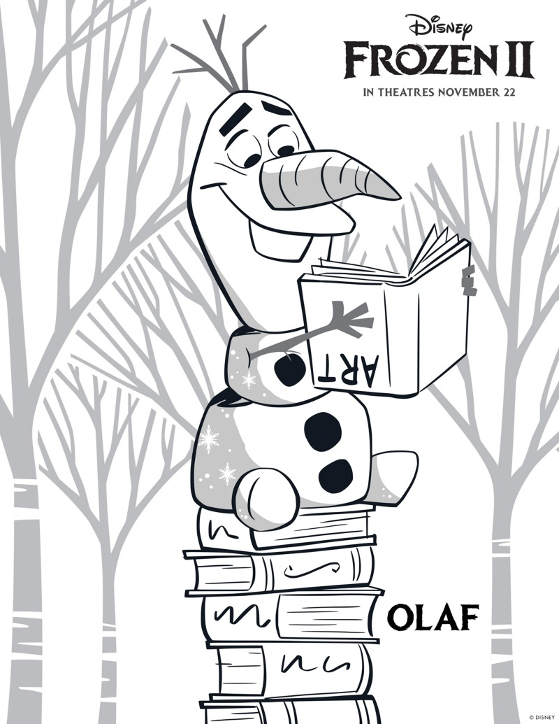 - Free Printable Disney Frozen 2 Olaf Coloring Page Mama Likes This