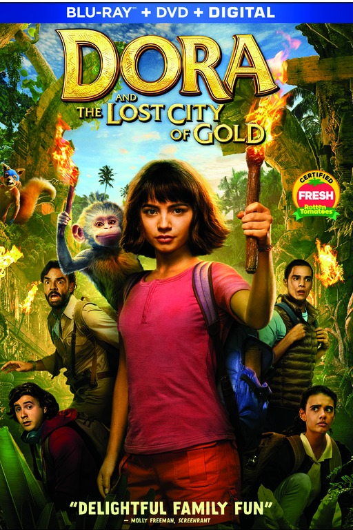 Dora and The Lost City of Gold on Blu-ray DVD and Digital #Dora #DoraTheExplorer #DoraMovie