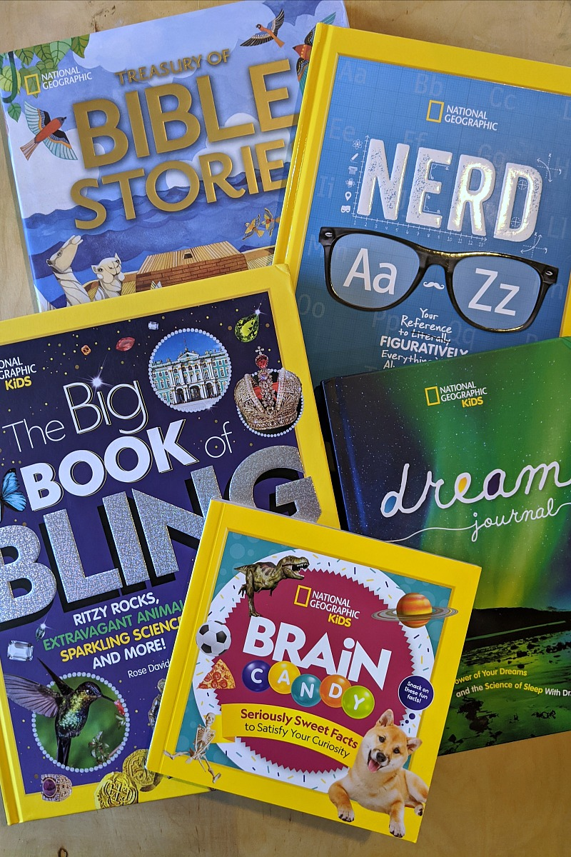 NatGeo Kids Books Holiday Gift Guide