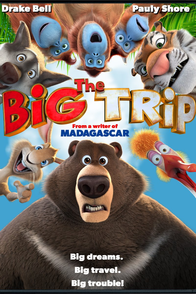 The Big Trip DVD starring Drake Bell and Pauly Shore