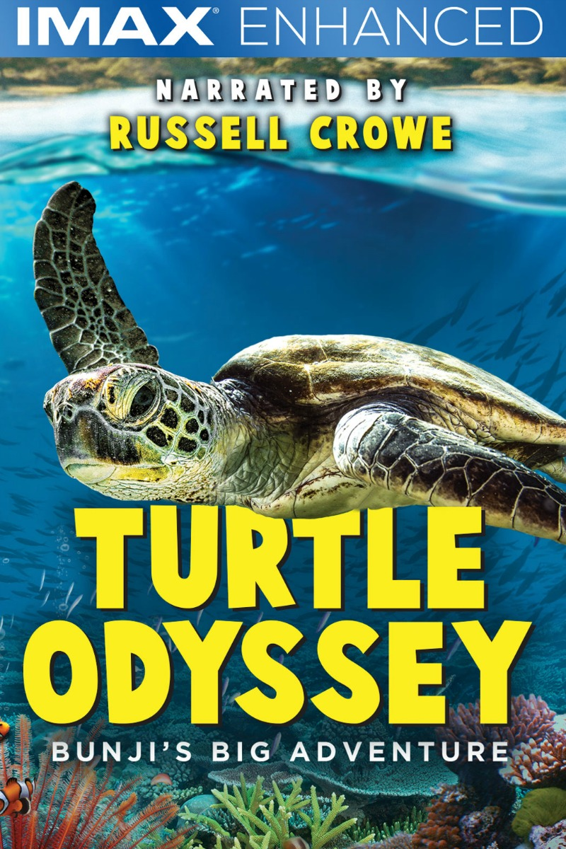 IMAX Enhanced Turtle Odyssey narrated by Russell Crowe