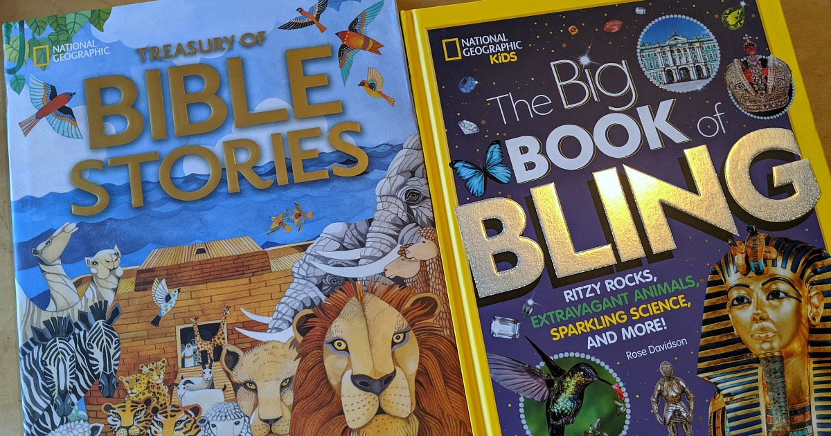 two natgeo kids books