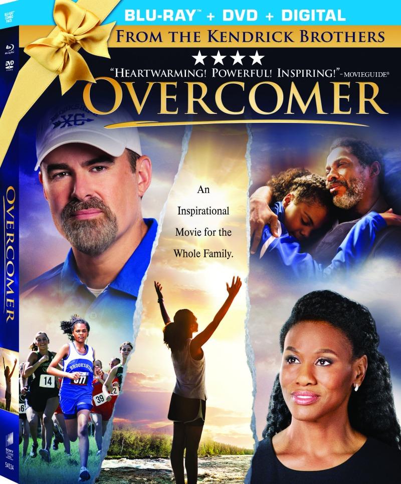 Overcomer bluray dvd digital