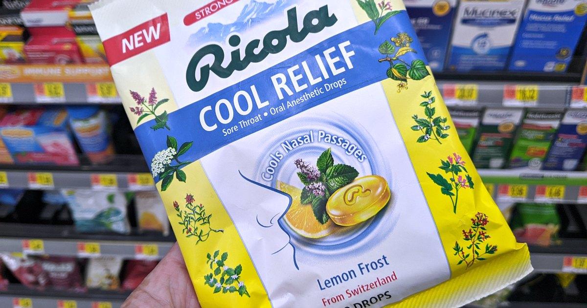 cool relief lemon frost ricola
