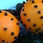 Festive Clove Studded Oranges Craft