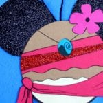Disney Inspired Moana Ornament Craft